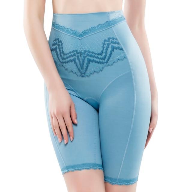 【Swear 思薇爾】挺享塑系列64-88中機能高腰長筒束褲(北極藍)