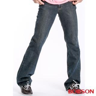 【BOBSON】男款低腰喇叭褲(1723-52)