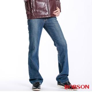 【BOBSON】男款低腰喇叭褲 1723-53