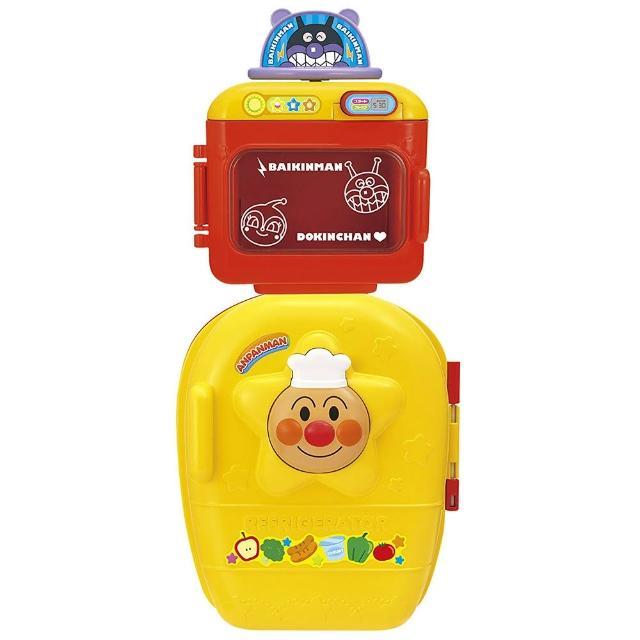 【ANPANMAN 麵包超人】ANP 冰箱+微波爐玩具
