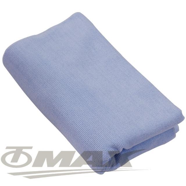 【OMAX】台制超细纤维大浴巾-蓝色-1入