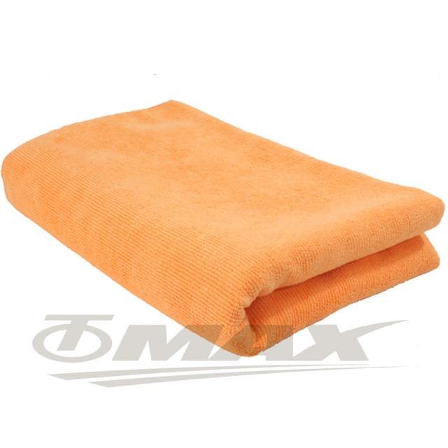 【OMAX】台制超细纤维大浴巾-橘色-1入(12H)