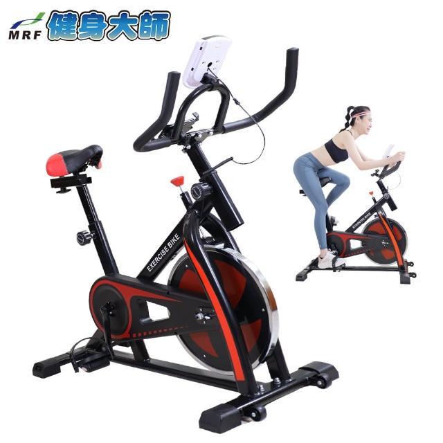 【健身大師】超跑款飛輪健身車- 時尚黑