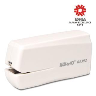 【KW-triO】NO.10 電動訂書機 05392(含USB接頭/一鍵推出中支裝針/台灣精品獎)