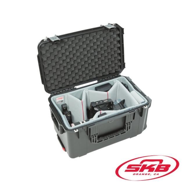 【SKB Cases】攝影機滾輪拉柄氣密箱 3I-2213-12DT