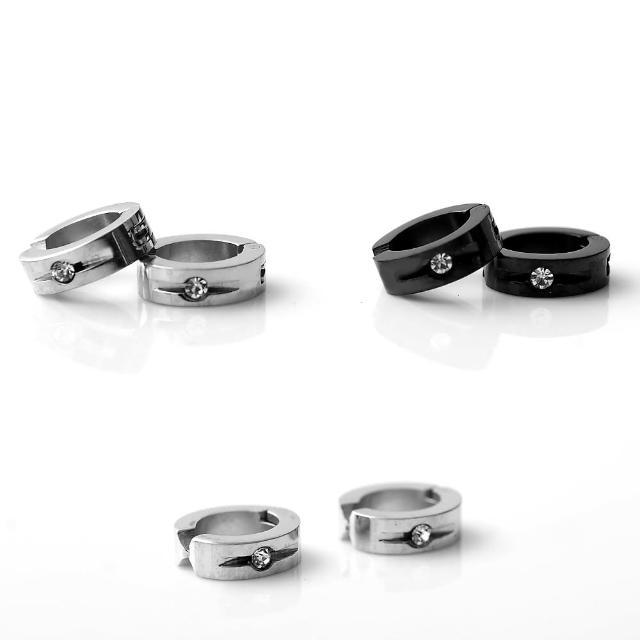 【玖飾時尚】西德鋼材質抗過敏夾式耳環(夾式)