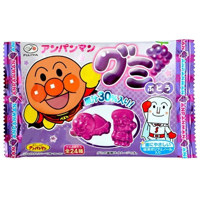 【不二家】麵包超人QQ糖-葡萄19g