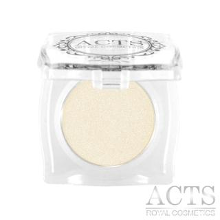 【ACTS 維詩彩妝】細緻珠光眼影 珠光象牙黃B702