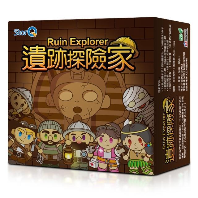 【StarQ 點讀系列】《遺跡探險家Ruin Explorer》(桌遊)