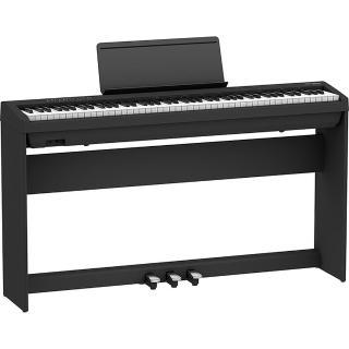 【ROLAND 樂蘭】FP-30 88鍵數位鋼琴-黑色(含琴架、琴椅、三瓣踏板)