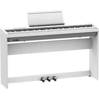 【ROLAND 樂蘭】FP-30 88鍵數位鋼琴-白色(含琴架、琴椅、三瓣踏板)