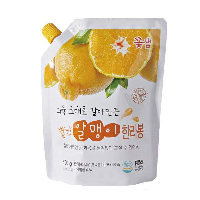【韓味不二】花泉蜂蜜橘子茶果醬(500g)