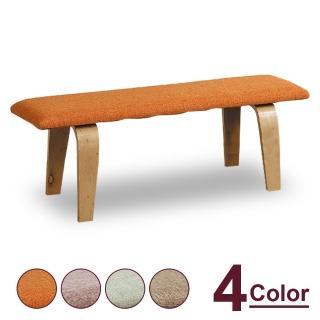 【時尚屋】杜達曲木長凳 MT7-354-9(四色可選 免組裝 免運費 長凳)