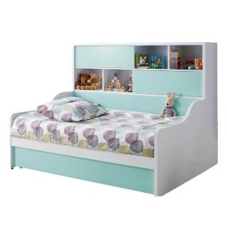 【AS】晴天3.5尺收納床台書櫃組-195x142.5x150.5cm