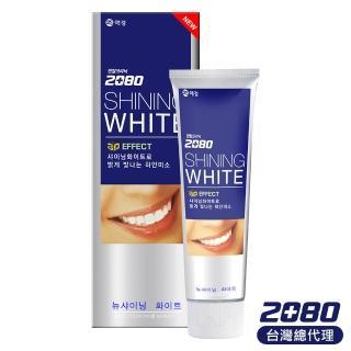 【韓國2080】三重美白修護牙膏(100gX16入)