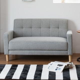 【完美主義】日系簡約雙人沙發(四色可選)