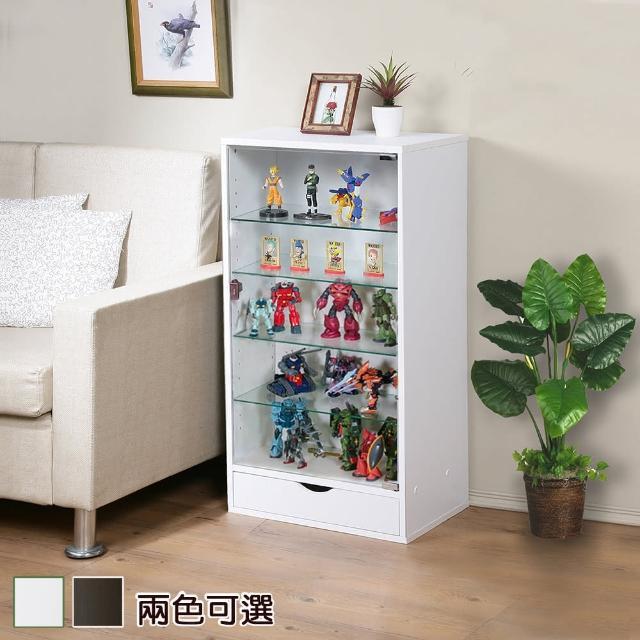 【C&B】加深型可瑞訊第二代公仔模型展示矮櫃(兩色可選)