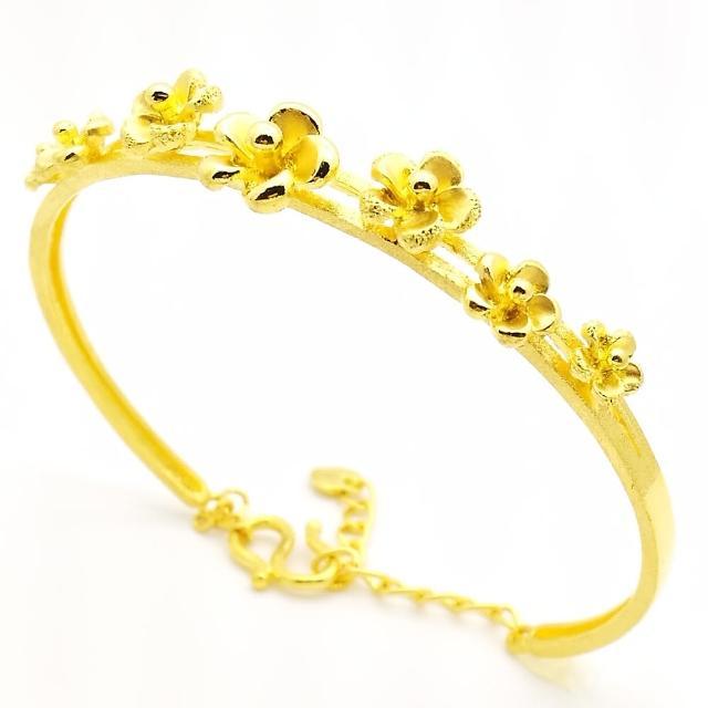 【D.M.】幸福傳遞黃金手鐲