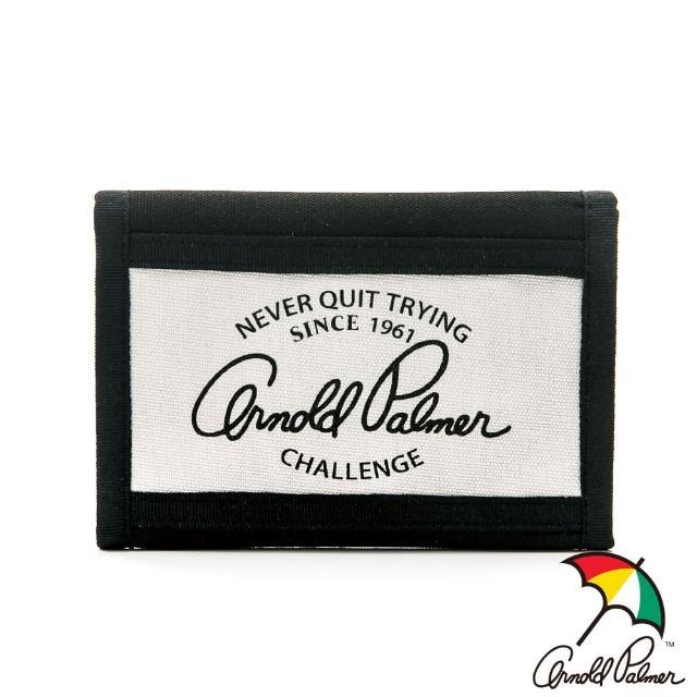 【Arnold Palmer】短夾 Casual 學院休閒系列(淺灰色)
