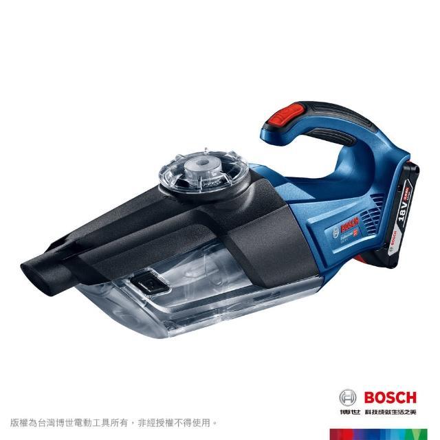 【BOSCH 博世】BOSCH 18V 鋰電雙渦流吸塵器2.0Ah套裝(GAS 18V-1 VP)