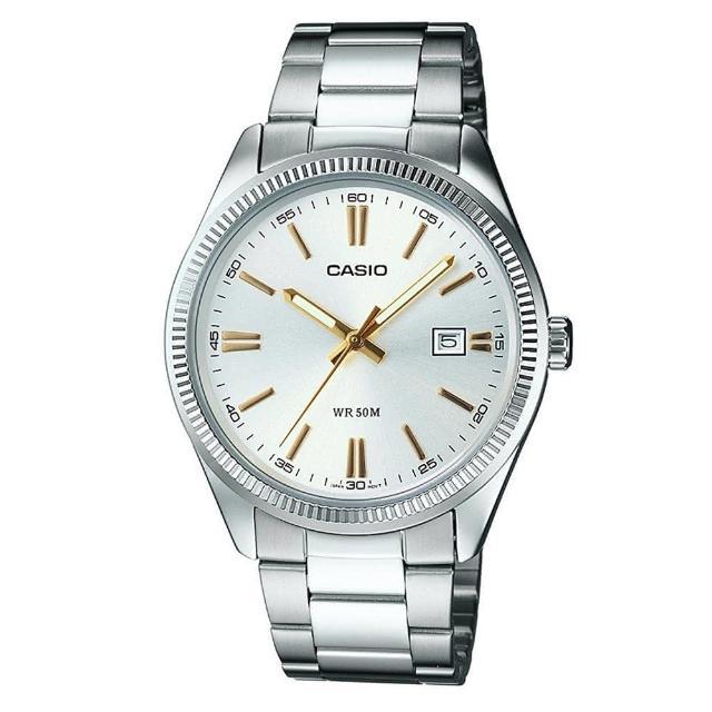 【CASIO 卡西歐】時尚新貴造型腕錶(MTP-1302D-7A2)
