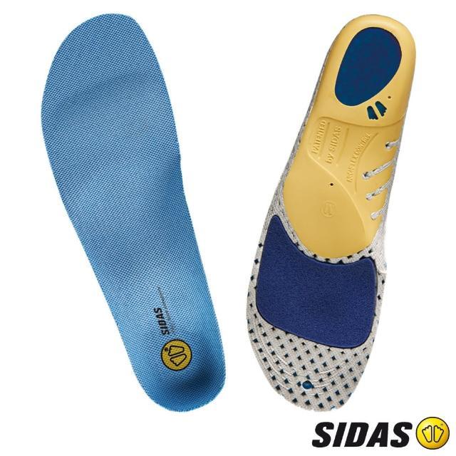 【SIDAS】Run 3D 慢跑抗菌鞋墊(緩震設計、足跟支撐與穩定度)