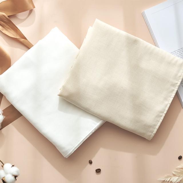 【MARURU】日本製無漂白無染色紗布浴巾(新生兒baby寶寶無漂白無染色紗布浴巾/日本製)