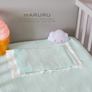 【MARURU】日本製嬰兒床單 薄荷綠 70x120(日本製嬰兒寶寶baby床單/適用台式60x120/日式70x120嬰兒床墊)