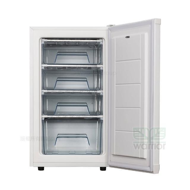 【WARRIOR 樺利】直立單門冷凍櫃 TF10Q(直立單門冷凍櫃)