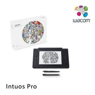 【Wacom】福利品★Intuos Pro Medium 雙功能創意觸控繪圖板 經典黑(PTH-660/K1)