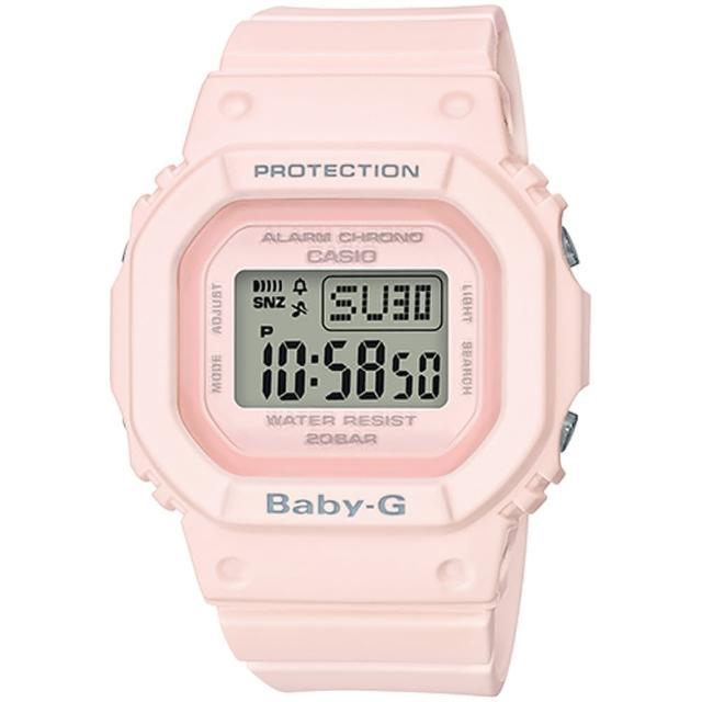 【CASIO 卡西歐】BABY-G 復刻經典休閒錶(BGD-560-4D)