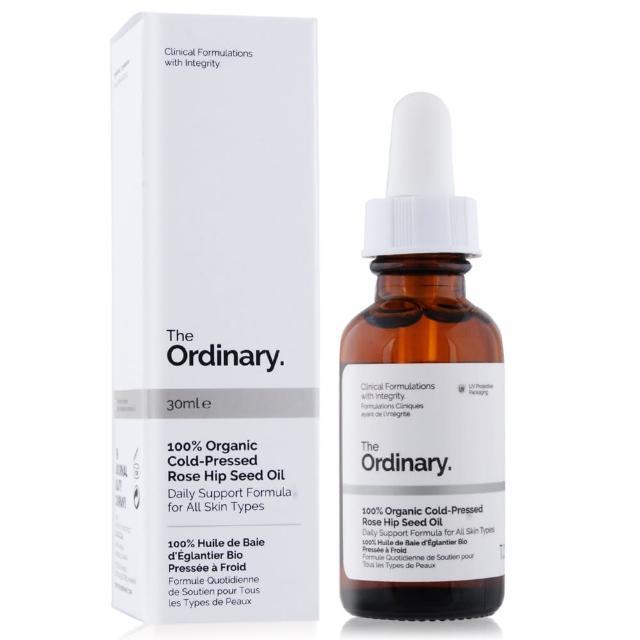 【The Ordinary】100% Organic Cold-Pressed Rose Hip Seed Oil 100%(有機冷榨玫瑰果籽油30ml)