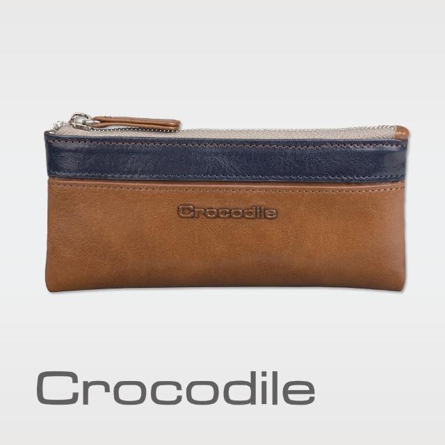 【Crocodile】Naturale系列Easy輕巧零錢包  0103-08103-02(義大利真皮皮革)