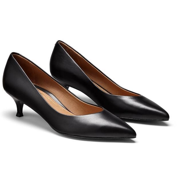 【VIONIC 法欧尼】健康时尚高跟鞋(Josie-亮黑)