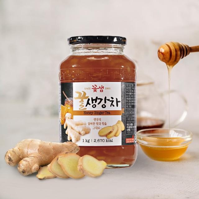 【韓味不二】蜂蜜薑母茶(果醬1kg)
