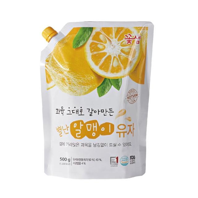 【韓味不二】花泉蜂蜜柚子茶 果醬(500g)