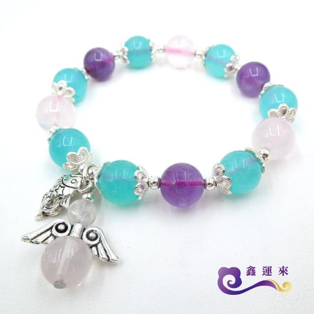 【鑫運來】紫水晶繽紛三色寶石手鍊(限量特價品)