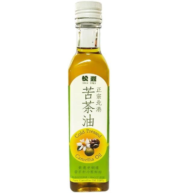 【松鼎】正宗北港100%苦茶油(250ml/瓶)