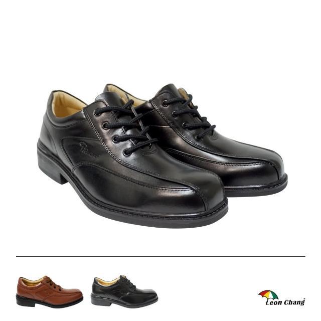 【Leon Chang 雨傘】型男真皮鞋