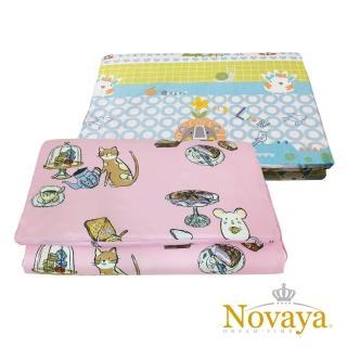 【Novaya 諾曼亞】《微笑寶貝》嬰兒透氣乳膠床墊(8款)