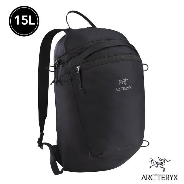 【Arcteryx 始祖鳥】24系列 Index 15L 輕量多功能後背包(黑)