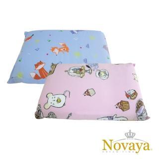【Novaya 諾曼亞】《微笑寶貝》天然乳膠中童枕(9款)