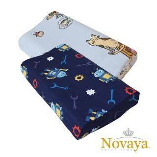【Novaya 諾曼亞】《微笑寶貝》人體工學兒童乳膠枕(6款)