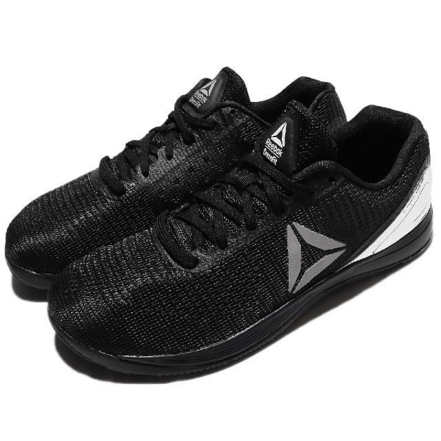 【REEBOK】R Crossfit Nano 7 訓練鞋 男鞋 慢跑 跑鞋 健身房 有氧 輕量 男 黑 銀(CM9518)