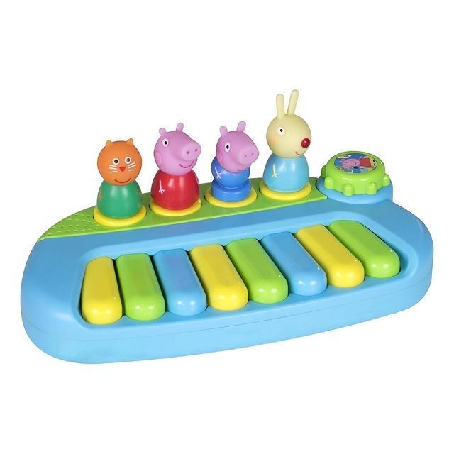 【Peppa Pig 粉紅豬】粉紅豬小妹公仔鋼琴組