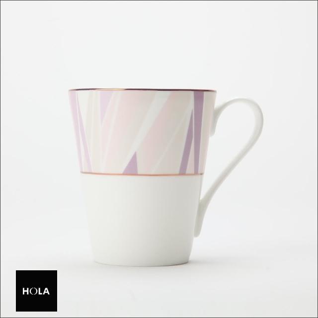【HOLA】HOLA 索菲亞玫瑰金骨瓷馬克杯