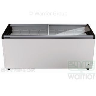 【LIEBHERR 利勃】德國利勃LIEBHERR 6尺3 弧型玻璃推拉冷凍櫃 EFI-5553(弧型玻璃推拉冷凍櫃附LED燈)