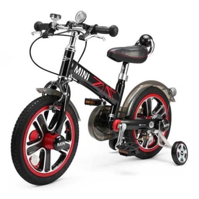【Mini Cooper】脚踏车14吋-闪电蓝