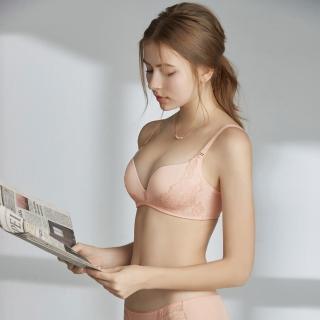 【瑪登瑪朵】Soft Up 無鋼圈 內衣  B-E罩杯(古典粉)
