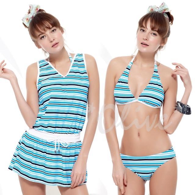 【SAIN SOU 聖手牌】時尚三件式比基尼泳裝(NO.A93422)
